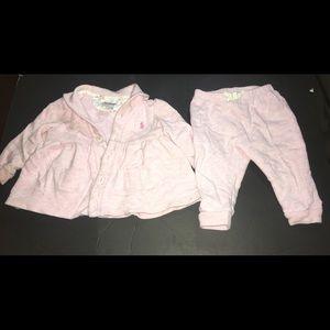Ralph Lauren Sweatsuit (Baby)